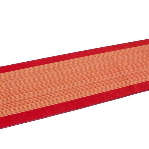 Runner Rug Carpet Carnaby stripes terra 80cm Width online kaufen