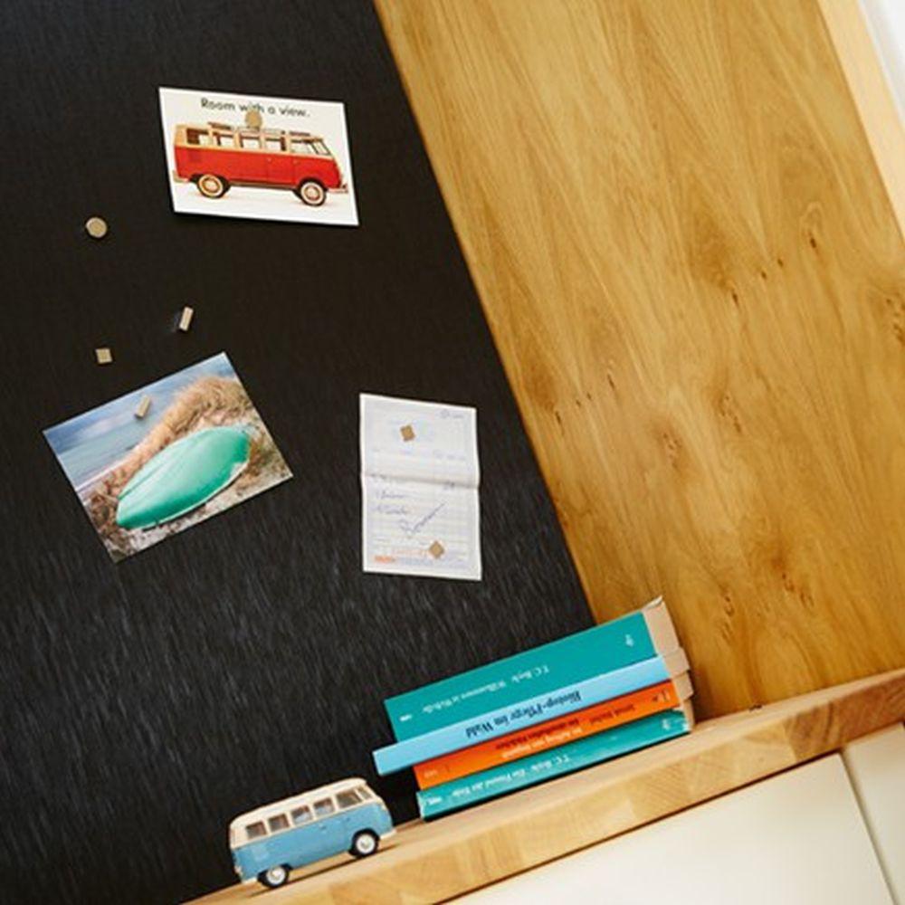 Panel selbstklebend Uni gold Pop Up Magnet Tapete livingwalls 9631-54 963154