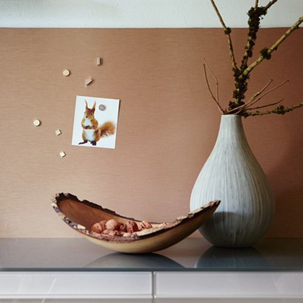 Panel Self Adhesive Plain Copper Pop Up Magnet Wallpaper Livingwalls