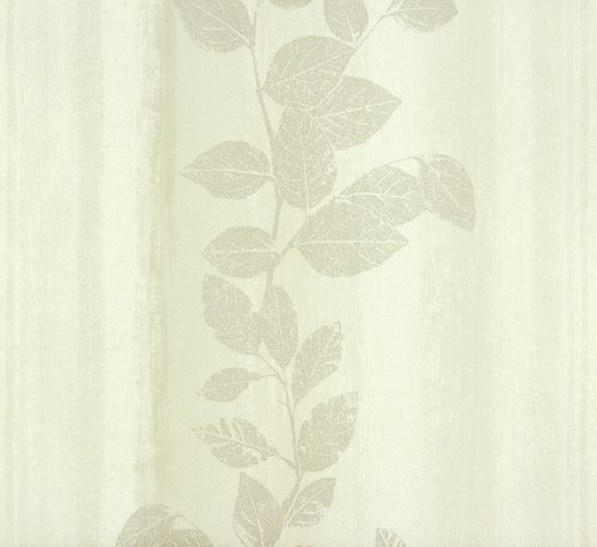 non-woven wallpaper structure flowers cream beige wallpaper Rasch Fiducia 424768