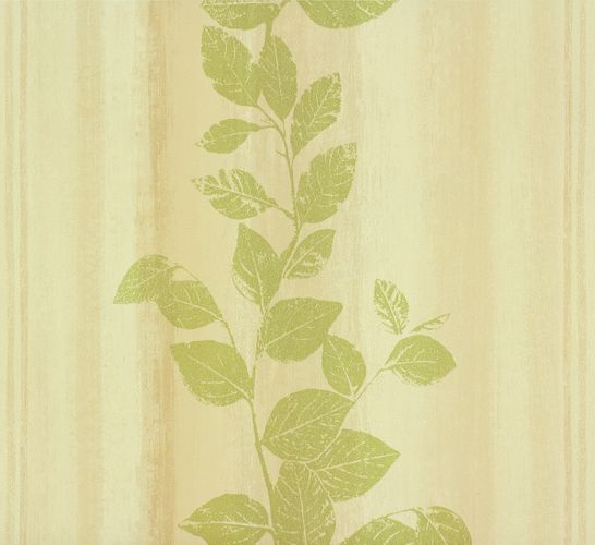 non-woven wallpaper structure flowers beige green wallpaper Rasch Fiducia 424751 online kaufen