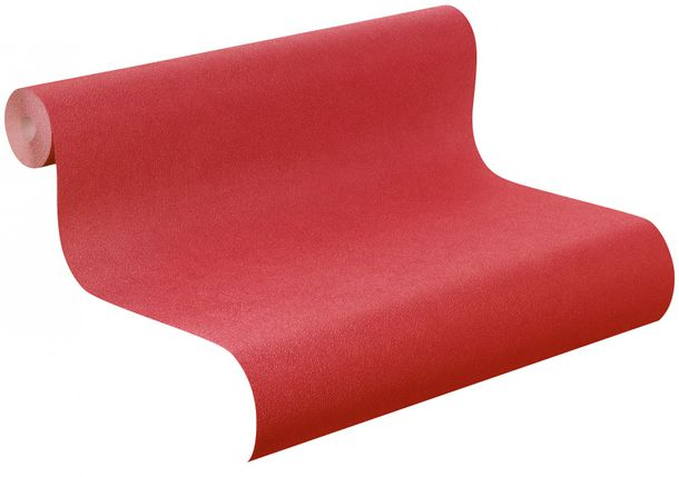 non-woven wallpaper plain red wallpaper Rasch Fiducia 424225