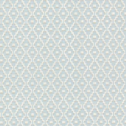 Non-woven wallpaper retro blue cream silver Rasch Textil Prisma 20957 online kaufen