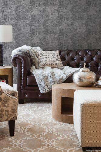 Non-woven wallpaper historical chart cream 021238 online kaufen