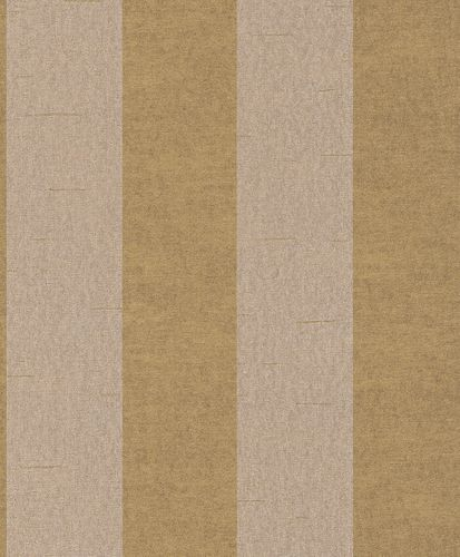 Non-woven wallpaper stripes structure cream gold Rasch Textil Tapete Comtesse 225142