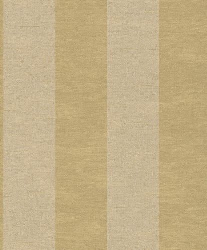Non-woven wallpaper stripes structure cream gold Rasch Textil Tapete Comtesse 225111