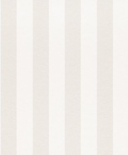 Wallpaper Rasch Textil striped cream white metallic 225401 online kaufen
