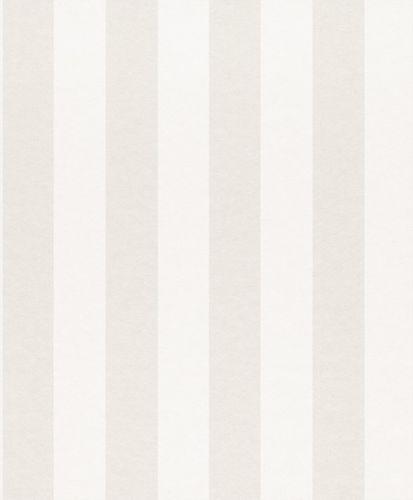 Wallpaper Rasch Textil striped cream white metallic 225401 online kaufen