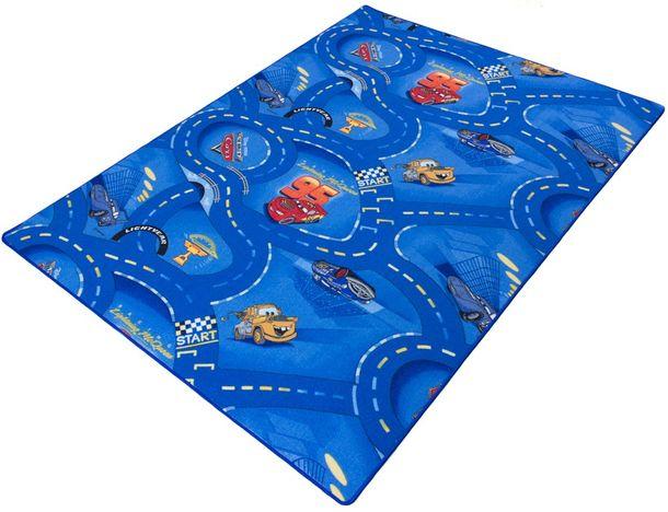 Kinderteppich Disney CARS Teppich Straßen Spielteppich online kaufen
