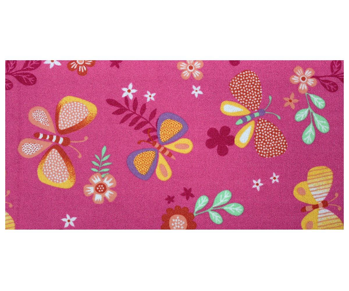 Kinderteppich schmetterling  Kinderteppich Schmetterling Teppich Papillon Butterfly ...