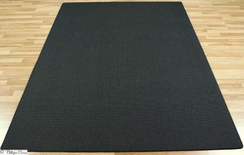 Teppich schwarz Sisal Optik Baltrum 133x190 cm