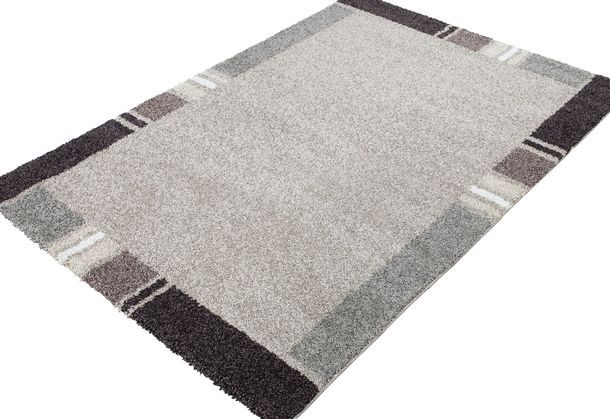 Carpet / rug Chelsea luxus designer carpet / rug beige brown 5 sizes online kaufen