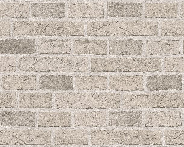 Wallpaper Brick Stonewall grey 7798-30