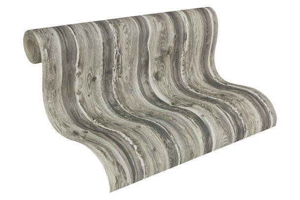 Wallpaper AS Creation wood grey beige 95837-2 online kaufen