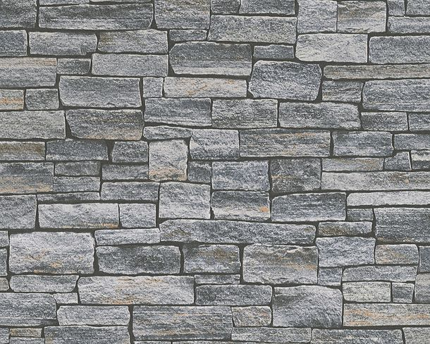 Wallpaper stone bricks grey beige AS Creation 95871-1