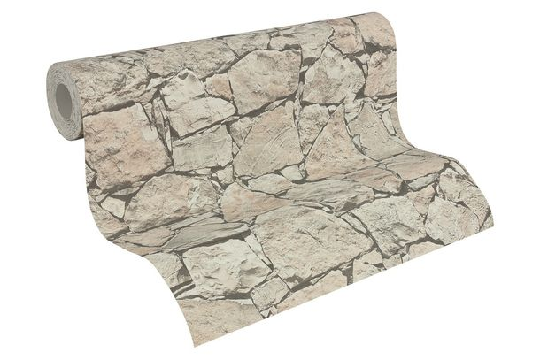Wallpaper natural stone bricks grey Lutèce 95863-2 online kaufen