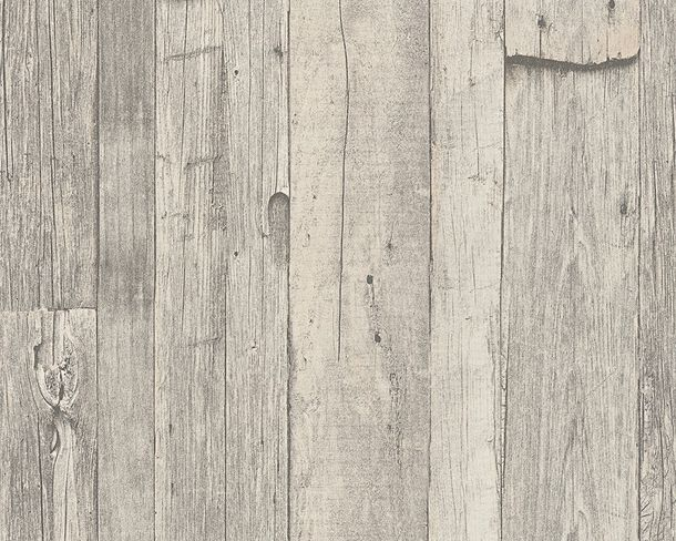 Wallpaper wooden style used grey AS Creation 95931-1 online kaufen