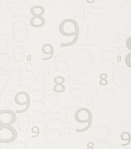 Wallpaper paintable numbers Rasch Wallton 342901