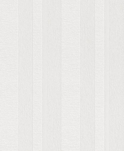 Wallpaper paintable stripes grooves Rasch 142402