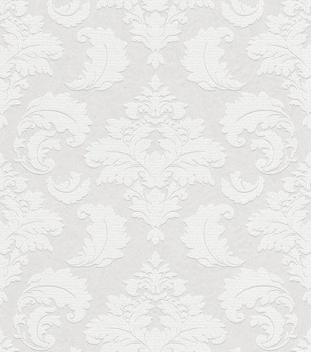 Wallpaper paintable baroque ornament Rasch 178906 online kaufen