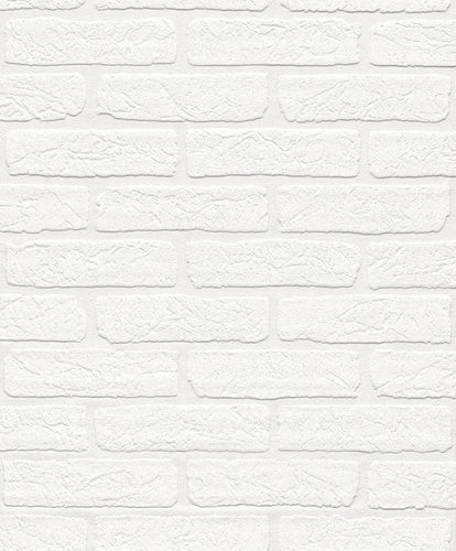 Wallpaper paintable brickstone wall Rasch 150100