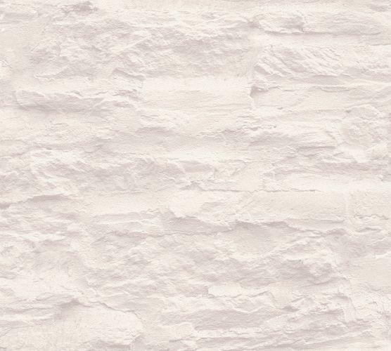 Wallpaper Schöner Wohnen stone bricks cream white 95908-3 online kaufen
