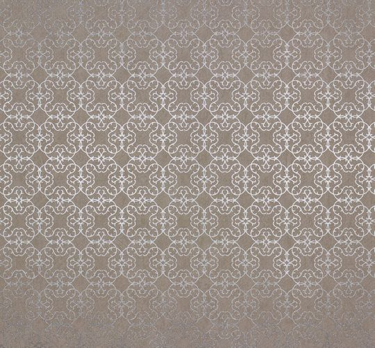 Non-woven wallpaper design pattern taupe Marburg 55704 online kaufen