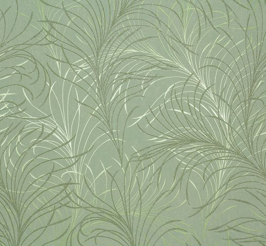 Non-woven wallpaper design floral green Marburg 55714 online kaufen