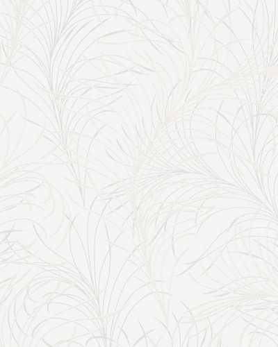 Non-woven wallpaper design floral white Marburg 55718 online kaufen