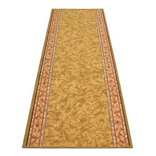 Runner Rug Carpet Cheops border brown 80cm Width