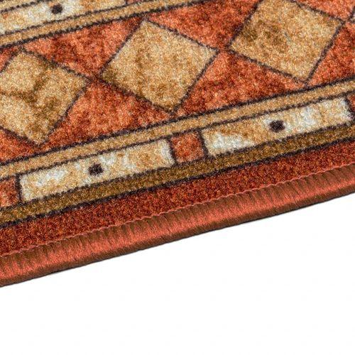 Runner Rug Carpet Cheops border orange 80cm Width online kaufen