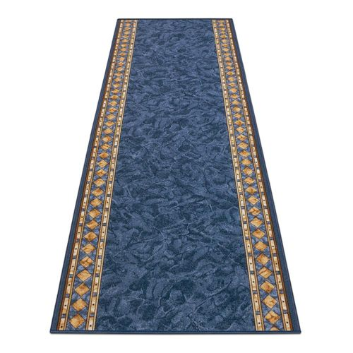 Runner Cheops 3 different colors blue border 80 cm / 31,50'' width online kaufen