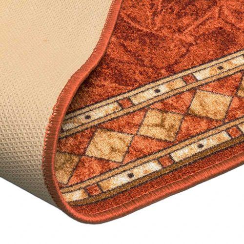 Runner Rug Carpet Cheops border orange 67cm Width online kaufen