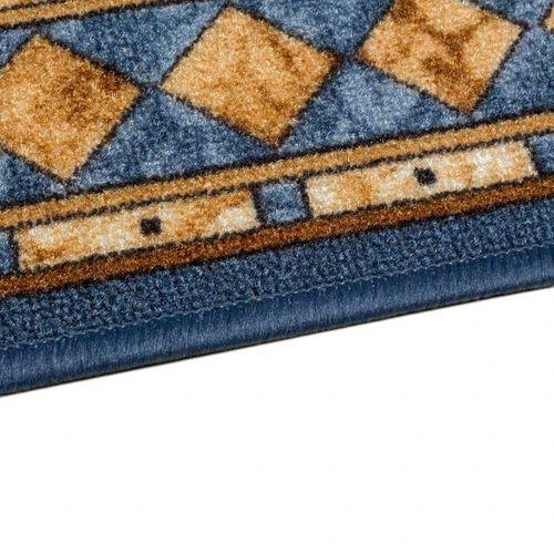 Runner Rug Carpet Cheops border blue 67cm Width online kaufen
