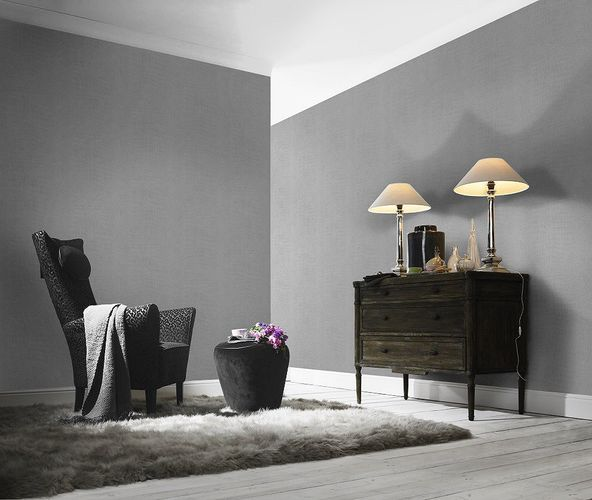 Non-woven Wallpaper Rasch crocodile skin silver 474145 online kaufen