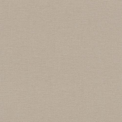 Wallpaper textured plain Rasch Pure Vintage brown 448566