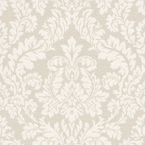 Wallpaper baroque ornament Rasch Pure Vintage beige 449020