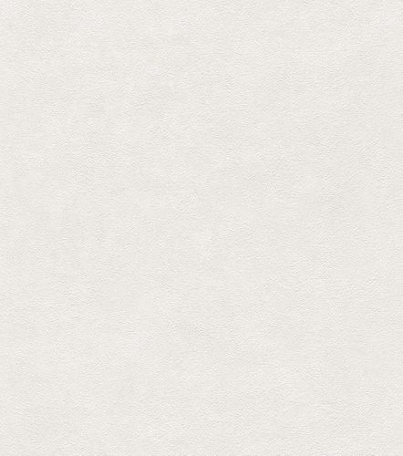 Wallpaper Rasch texture plain white 445800