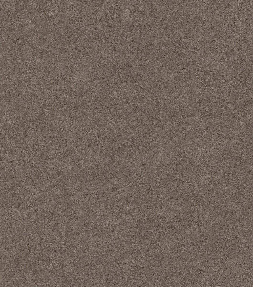 Vliestapete Rasch Struktur Uni dunkel braun 445862
