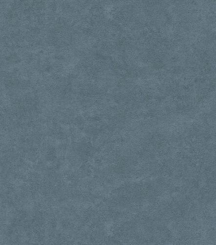 Vliestapete Rasch Struktur Uni blau 445909  online kaufen