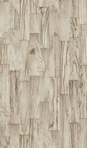Non-woven wallpaper wood look cream beige Rasch Factory 2 wallpaper 446654 online kaufen