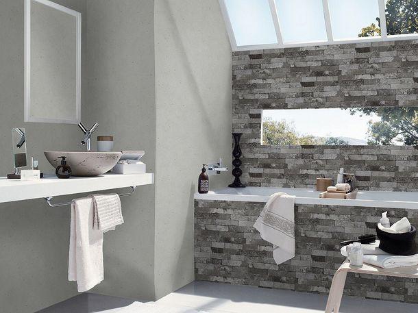Wallpaper concrete stone Rasch Pure Vintage grey 475210 online kaufen