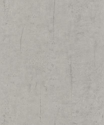 Wallpaper concrete stone Rasch Pure Vintage grey 475302