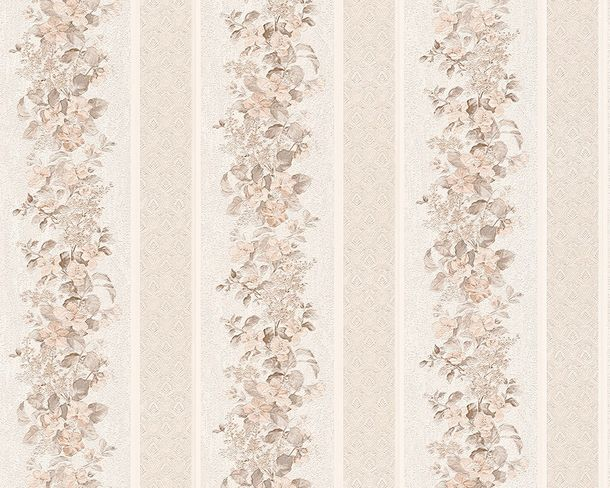 Wallpaper AS Creation white floral Conerto 95929-2