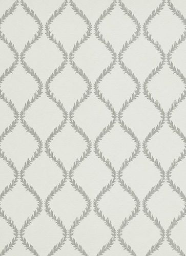 Non-woven wallpaper vines waves white grey wallpaper Shine Erismann 6921-47 692147 online kaufen