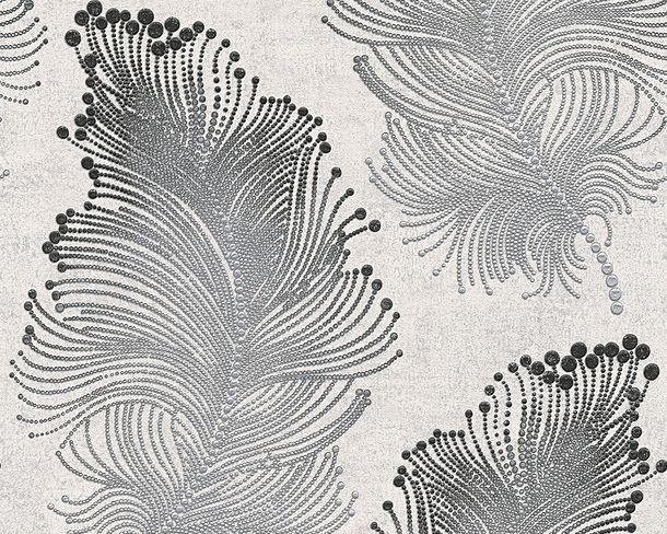 Wallpaper floral whitegrey silver livingwalls Bohemian Burlesque 96045-6 online kaufen