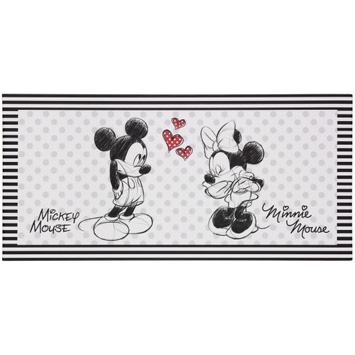 Picture stretcher art print 33x70 Disney Minnie and Mickey Mouse black white  online kaufen