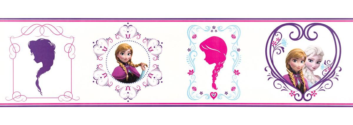 borte disney frozen elsa anna lila wei pink 90 065. Black Bedroom Furniture Sets. Home Design Ideas
