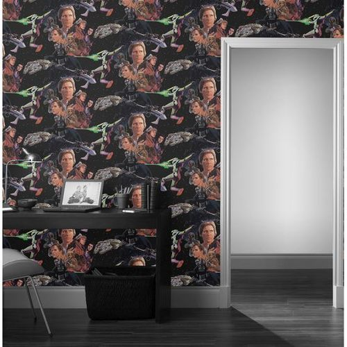 Wallpaper black Star Wars Retro Comic Space Graham & Brown Wallpaper 70-453  online kaufen