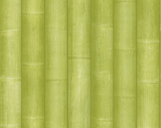 Wallpaper wood optics bamboo green New England 2 96184-3